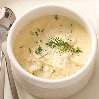 Avgolemono Chicken Soup with RiceRecipe