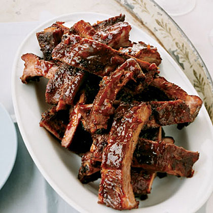 Spicy and Sticky Baby Back Ribs Recipe