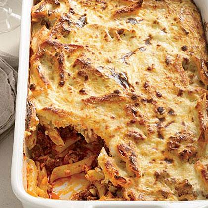 Greek Baked Pasta Recipe