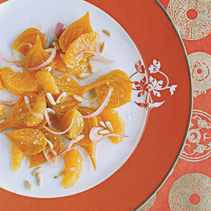 Beet Salad with Tangerines