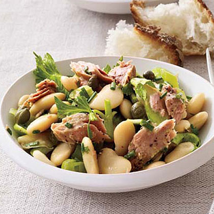Butter Bean, Tuna and Celery Salad Recipe