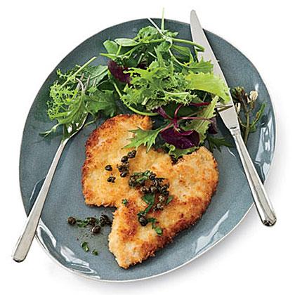 Panko-Coated Chicken SchnitzelRecipe