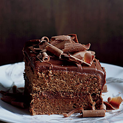 Milk-Chocolate-Frosted Layer Cake