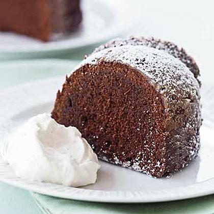 Chocolate-Red Wine Cake