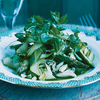 Crab, Avocado and Asparagus Salad