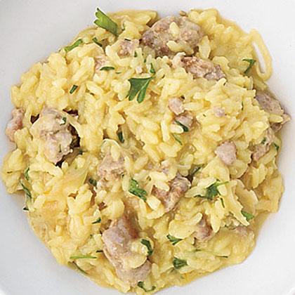 Fennel and Sausage Risotto Recipe
