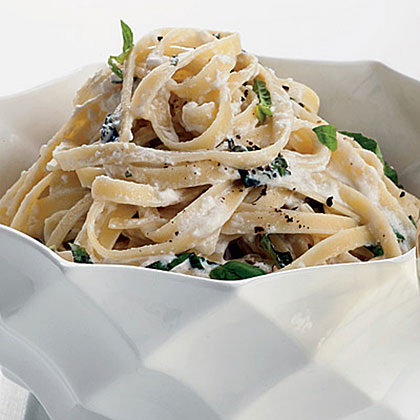 Summery Fettuccine Alfredo Recipe