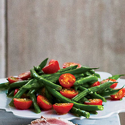 Green Bean–Tomato Salad with HerbsRecipe
