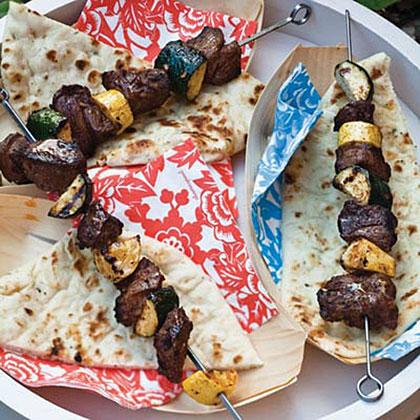Spicy Lamb Shish Kebabs
