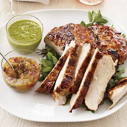 Mango-Glazed Turkey Breast