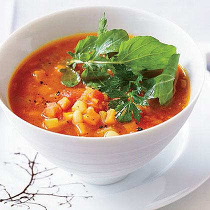 Hearty Minestrone Soup