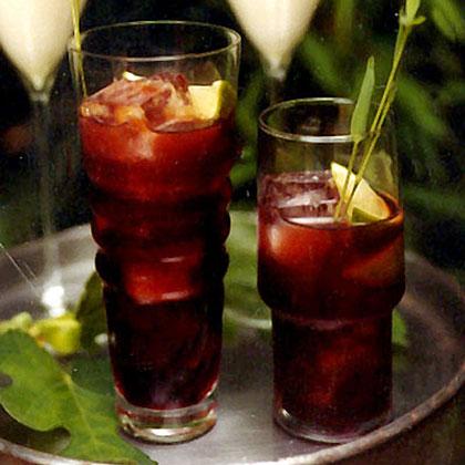 Pomegranate Caipirinhas Recipe