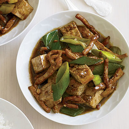 Pork-and-Tofu Stir-FryRecipe