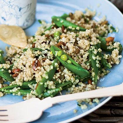 Quinoa Salad with Sugar Snap Peas Recipe