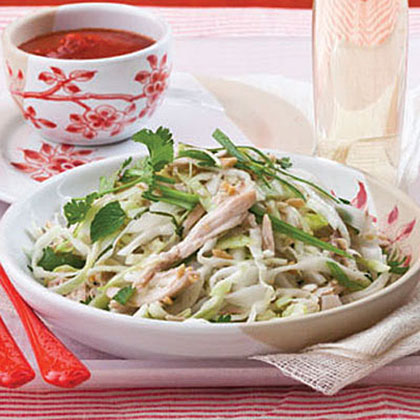 Rice-Noodle Salad with Chicken and HerbsRecipe