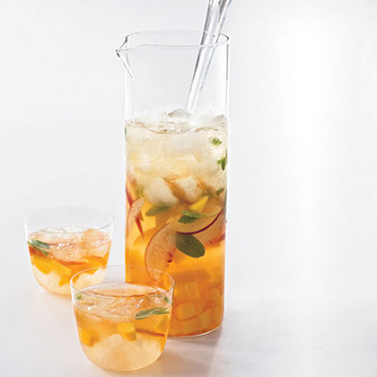 Mango-Peach Sangria