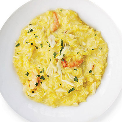 Creamy Seafood Risotto