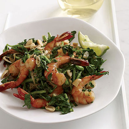 Vietnamese-Style Shrimp and Watercress Stir-Fry Recipe