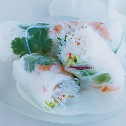 Shrimp-and-Vegetable Summer Rolls