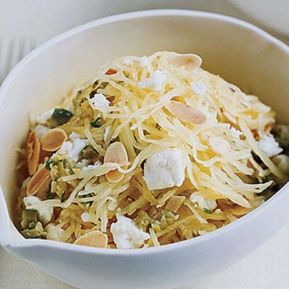 Warm Spaghetti-Squash SaladRecipe