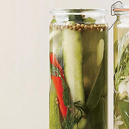Spicy Dill Quick PicklesRecipe