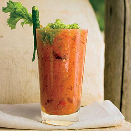 Fresh Tomato Bloody MarysRecipe