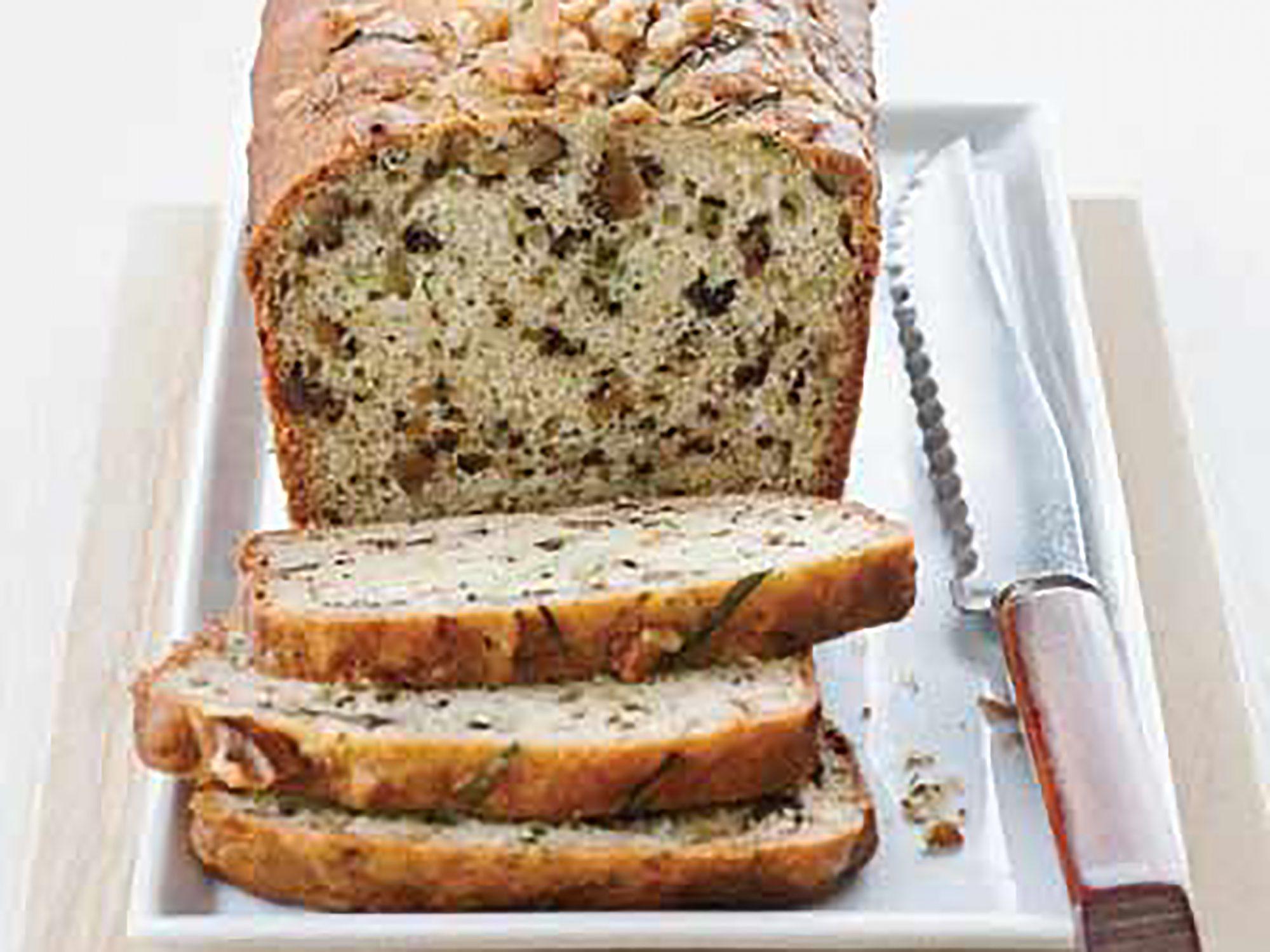 Yogurt-Zucchini Bread with Walnuts