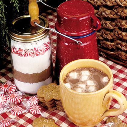 Candy Cane Hot Chocolate MixRecipe