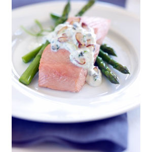 Almond Board Creamy Almond-Caper Sauce Recipes