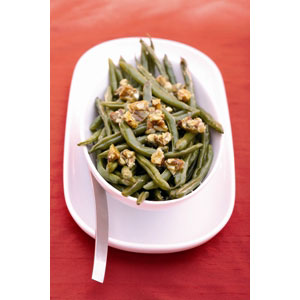 Almond Board Roasted Green Beans with Almond Brittle Recipes