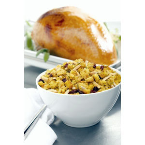 Almond Board Turkey Breast with Cranberry Almond Stuffing Recipes