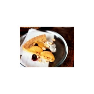 Almond Board Almond Polenta Tart with Caramelized Pears & Cherries Recipes Recipe