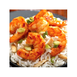Almond Board Thai Shrimp with Coconut-Almond Rice Recipes