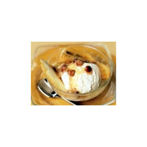 Almond Board Warm Banana Sundaes with Almond Dulce de Leche SauceRecipe