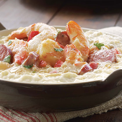 Anniversary Shrimp and Grits Recipe