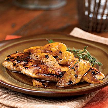 Maple-Apple Chicken BreastsRecipe
