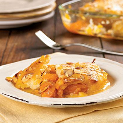 Apricot-Almond CobblerRecipe