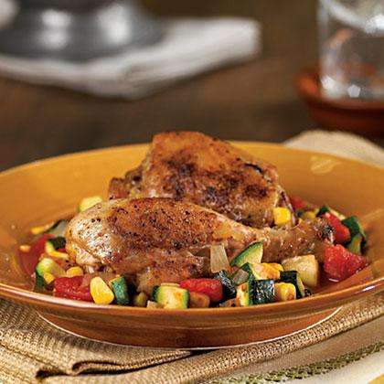 Calabacita con Pollo Recipe