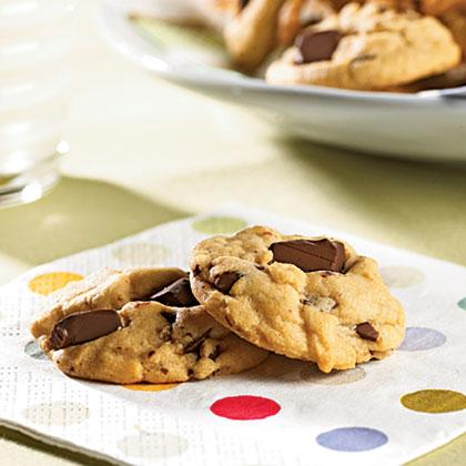Dark Chocolate Chunk CookiesRecipe