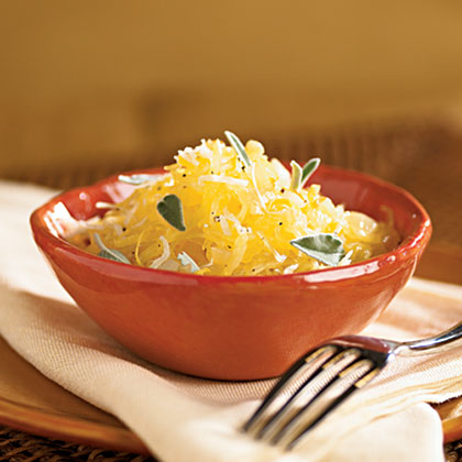 Lemon-Sage Spaghetti Squash Recipe