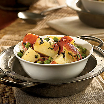 Potato Salad With Mint and Peas