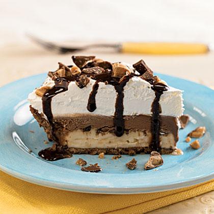 Chocolate-Toffee Ice Cream Pie