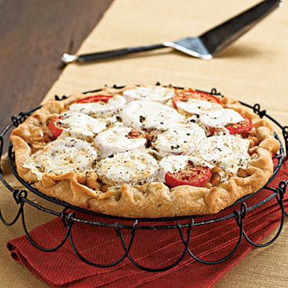 Hearty Tomato Pie