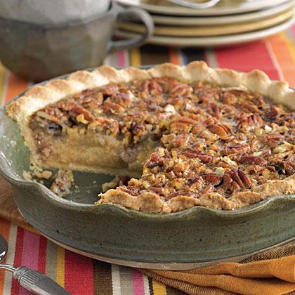 Pecan-Grits Pie