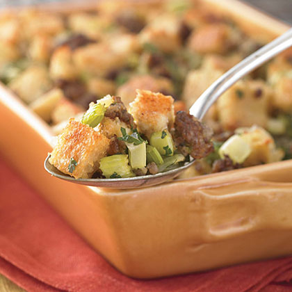 Sausage and Grits Dressing