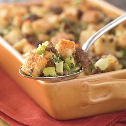 Sausage and Grits Dressing Recipe | MyRecipes.com