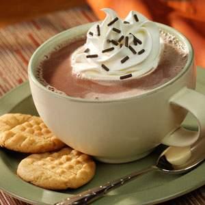 Reddi-wip Chocolate-Peanut Butter Hot Cocoa RecipesRecipe