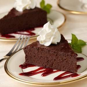 Reddi-wip Flourless Chocolate Cake Recipes Recipe