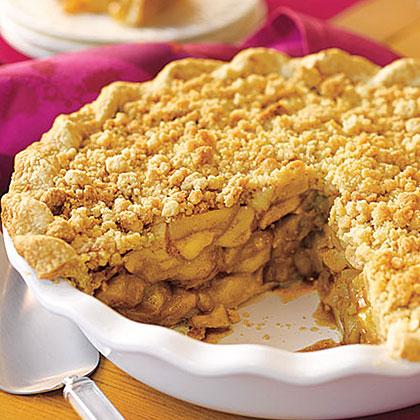 Crumb-Topped Apple Pie Recipe