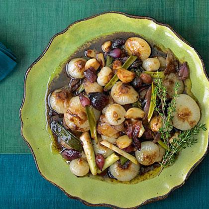 Little Balsamic-Glazed Onions